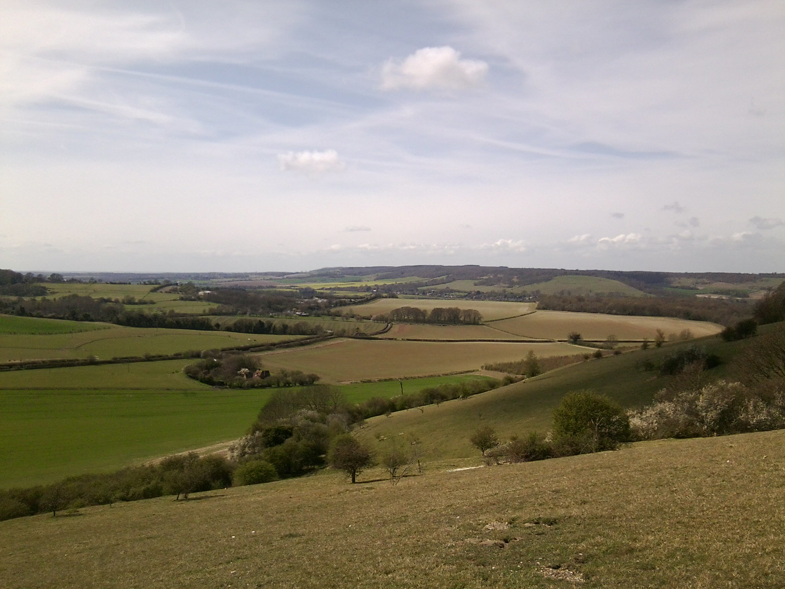 Across the plain Chilham Circular