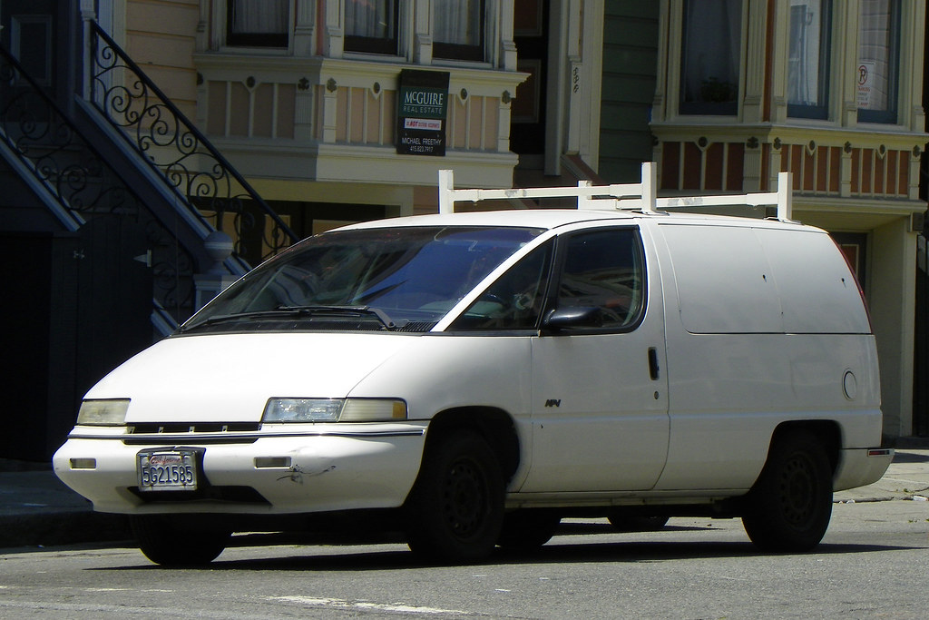 1990 Chevy Lumina Apv Cargo Van I M Told These Cargo Varia Flickr