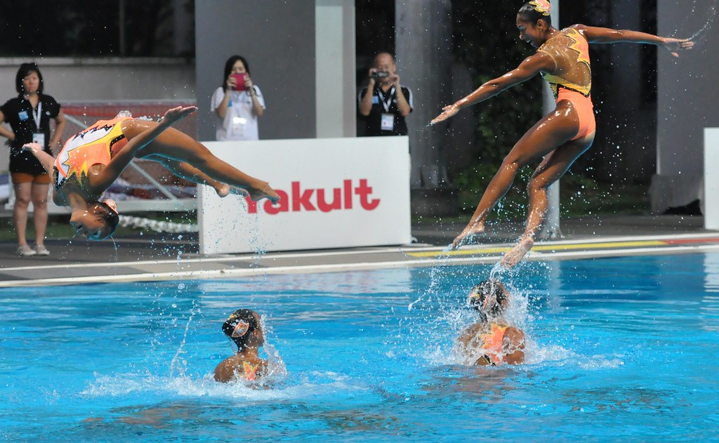 Southeast Asia Swimming Championships 2012 (Synchronised Swimming) Day Three 17 June 2012