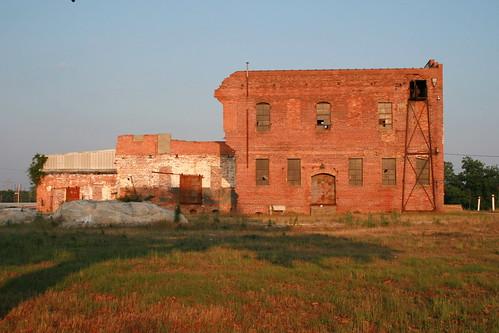 old sunset dublin building georgia eveninglight