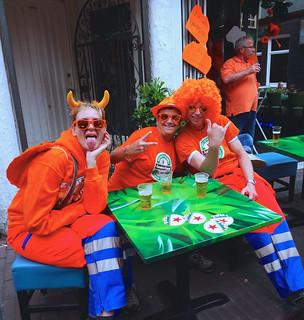 Koningsdag Amsterdam. King's Day.   by elsa11