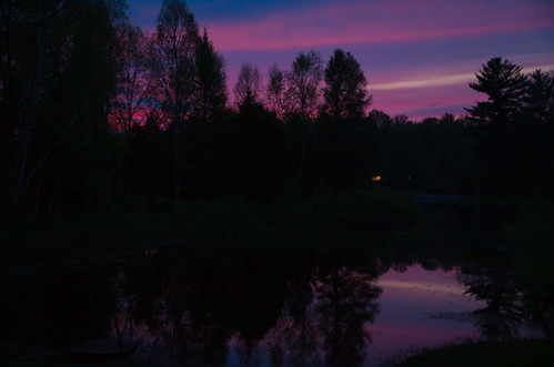 trees sunset sky cloud lake water silhouette night landscape evening dusk reflect