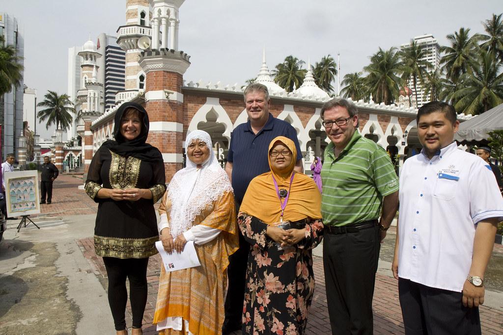 Cultural Ties With Malaysia: Masjid Jamek Mosque