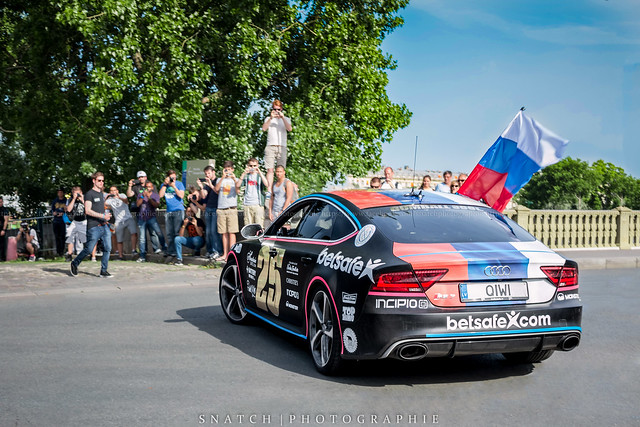 Audi RS7 Gumball 3000
