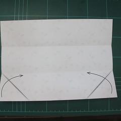 การพับกระดาษเป้นถุงของขวัญแบบไม่ใช้กาว (Origami Gift Bag) 002
