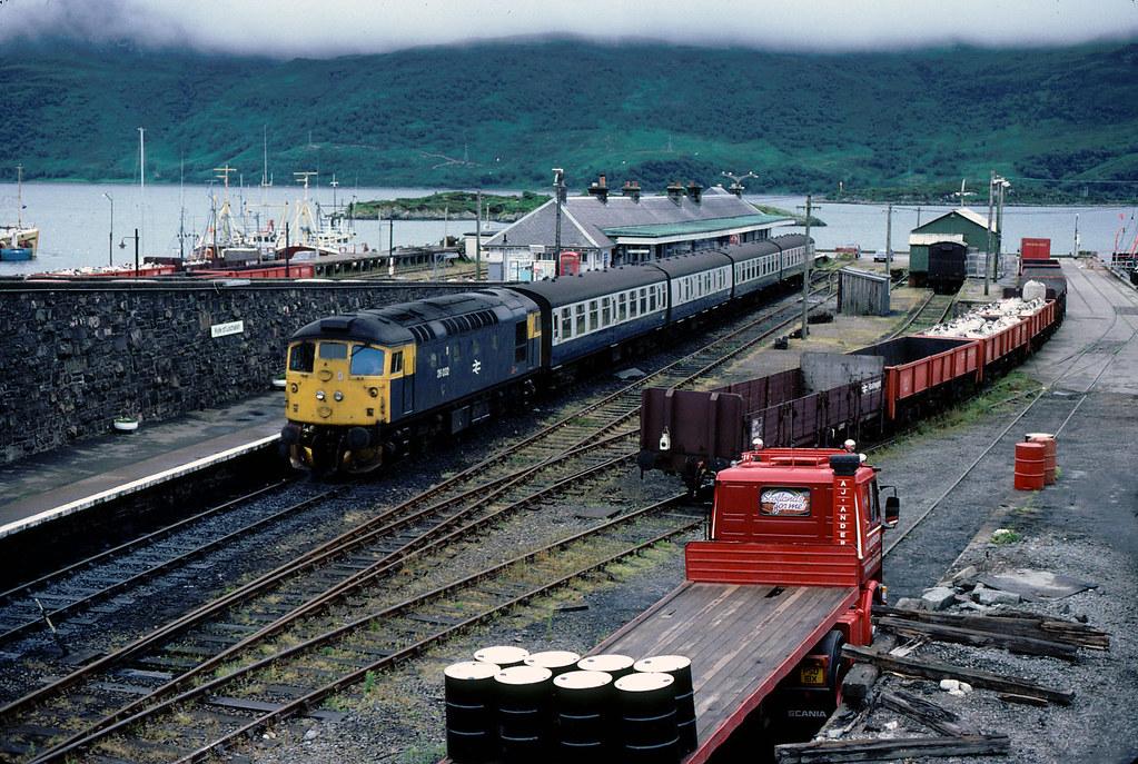 Kyle of Lochalsh Railway Station 1983