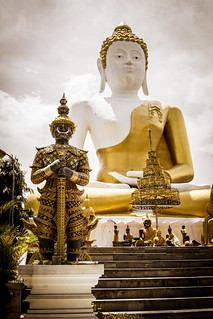 2014-05-25 Thailand Day 3, Wat Phrathat Doi Kham | by Qsimple, Memories For The Future Photography