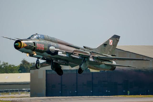 Polish Air Force Sukhoi Su-22M4 'Fitter'