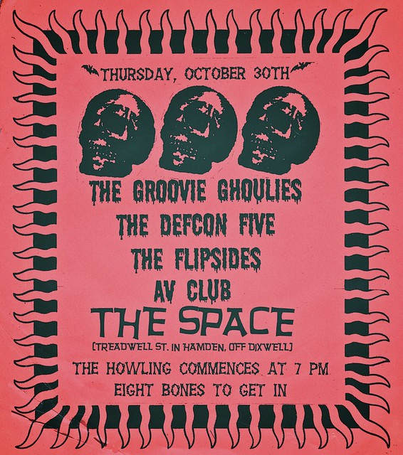 Groovie Ghoulies / Defcon Five / The Flipsides / AV Club