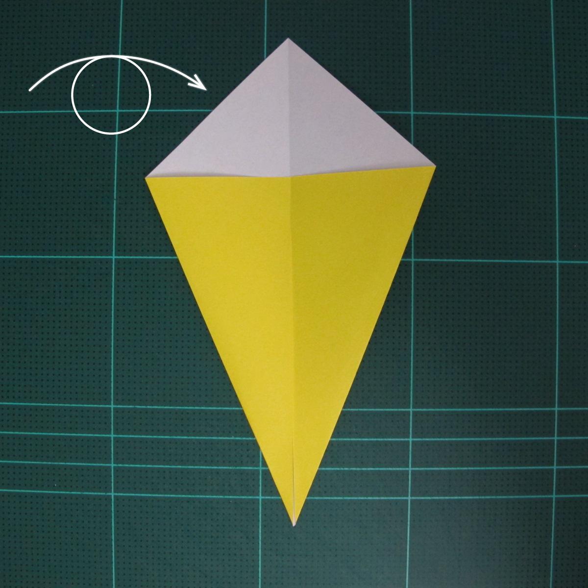 การพับฐานปลา (Oigami Fish Base) 002