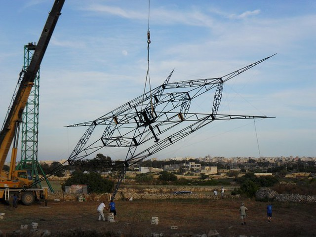 World's Biggest Catherine Wheel Is Fired In Mqabba