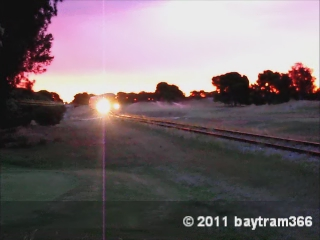 2000 class heading towards Adelaide, Seaton Golf Course by baytram366