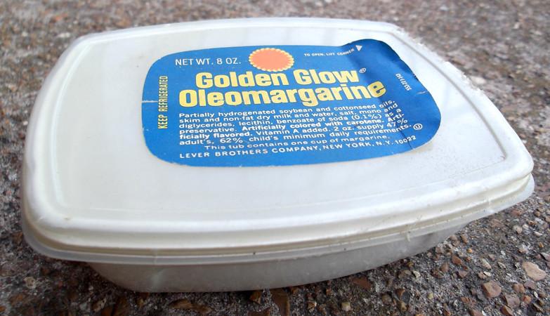 Old Golden Glow Oleomargarine Container | Gregg Koenig | Flickr