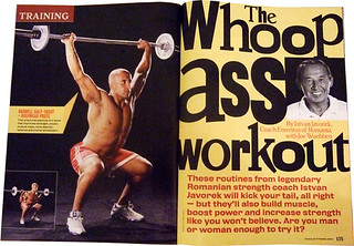 Muscle and Fitness Magazine | by Morra Design