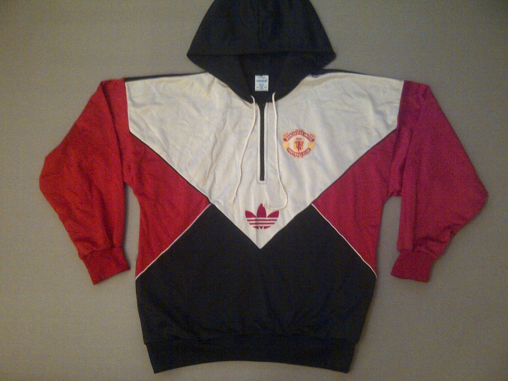 Vintage 80's Adidas Manchester United Track Top | Extremely