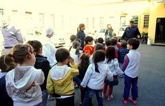 EDUCAZIONE STRADALE VISITA COMANDO SCUOLE MATERNE 05 MAGGIO 2014  Foto A. Artusa