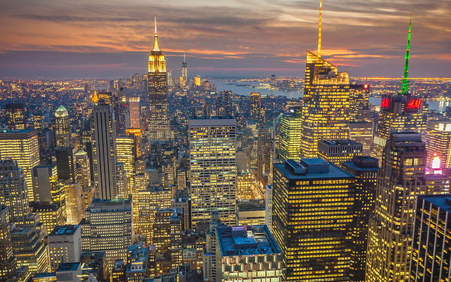Colourful New York City