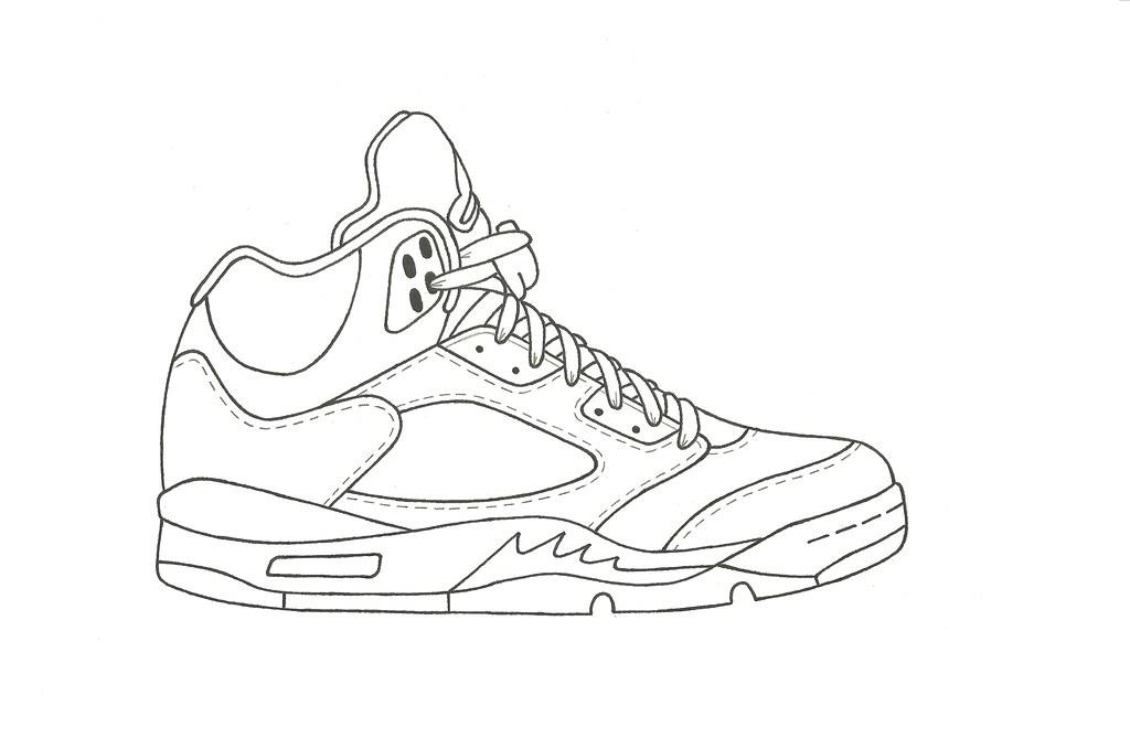 the best attitude a7f09 bc10a ... Air Jordan 5 Stencil   by KicksArt