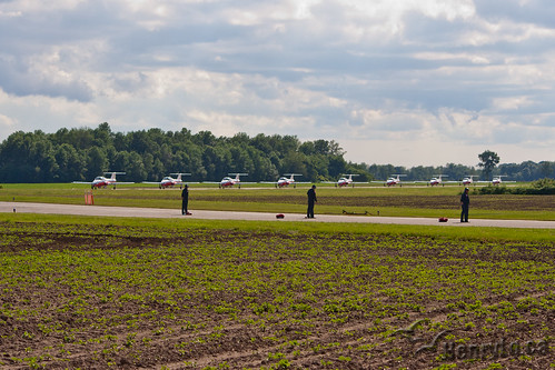 Snowbirds taxiing | by Henry_Lo