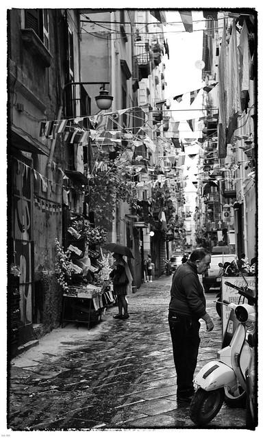 Leica m8 - Naples - quartier espagnole