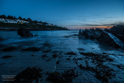 sunset sea seaweed beach nikon rocks dusk jersey channelislands d3000