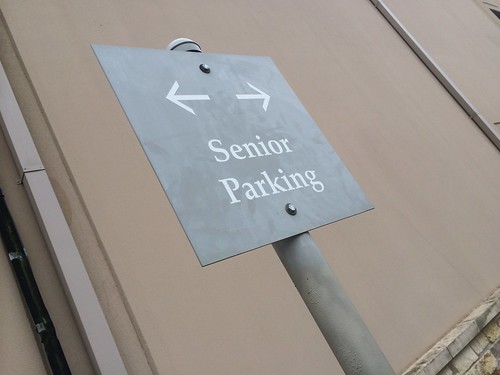 Old People Everywhere - Senior parking | by Homeandgardners