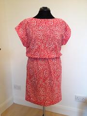 Pattern Runway Easy Kimono Dress in viscose