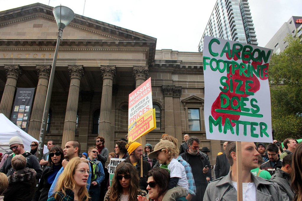Carbon Footprint: size does matter - Melbourne World Environment Day 2011