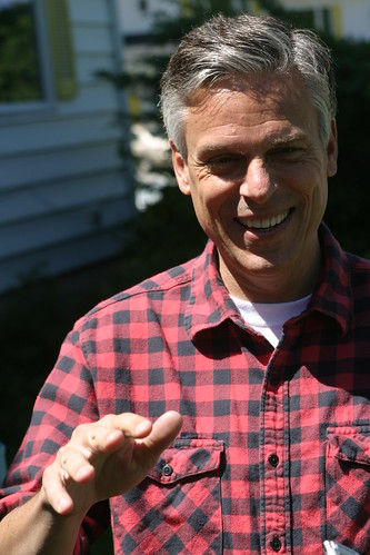 Jon Huntsman in the North Country | by New Hampshire Public Radio