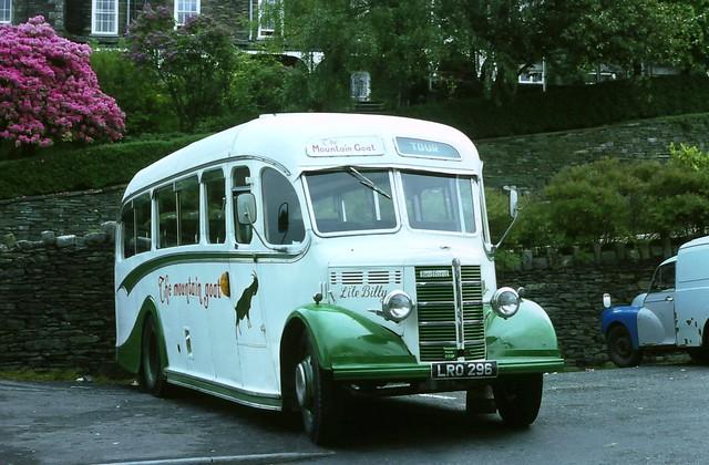 Li'le Billy, The Mountain Goat Bus, Windermere (June 1976)
