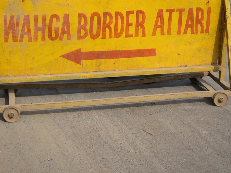 India/Pakistan border closing
