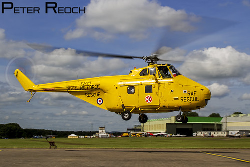 G-BVGE / Private / Westland Whirlwind HAR10   by Peter Reoch