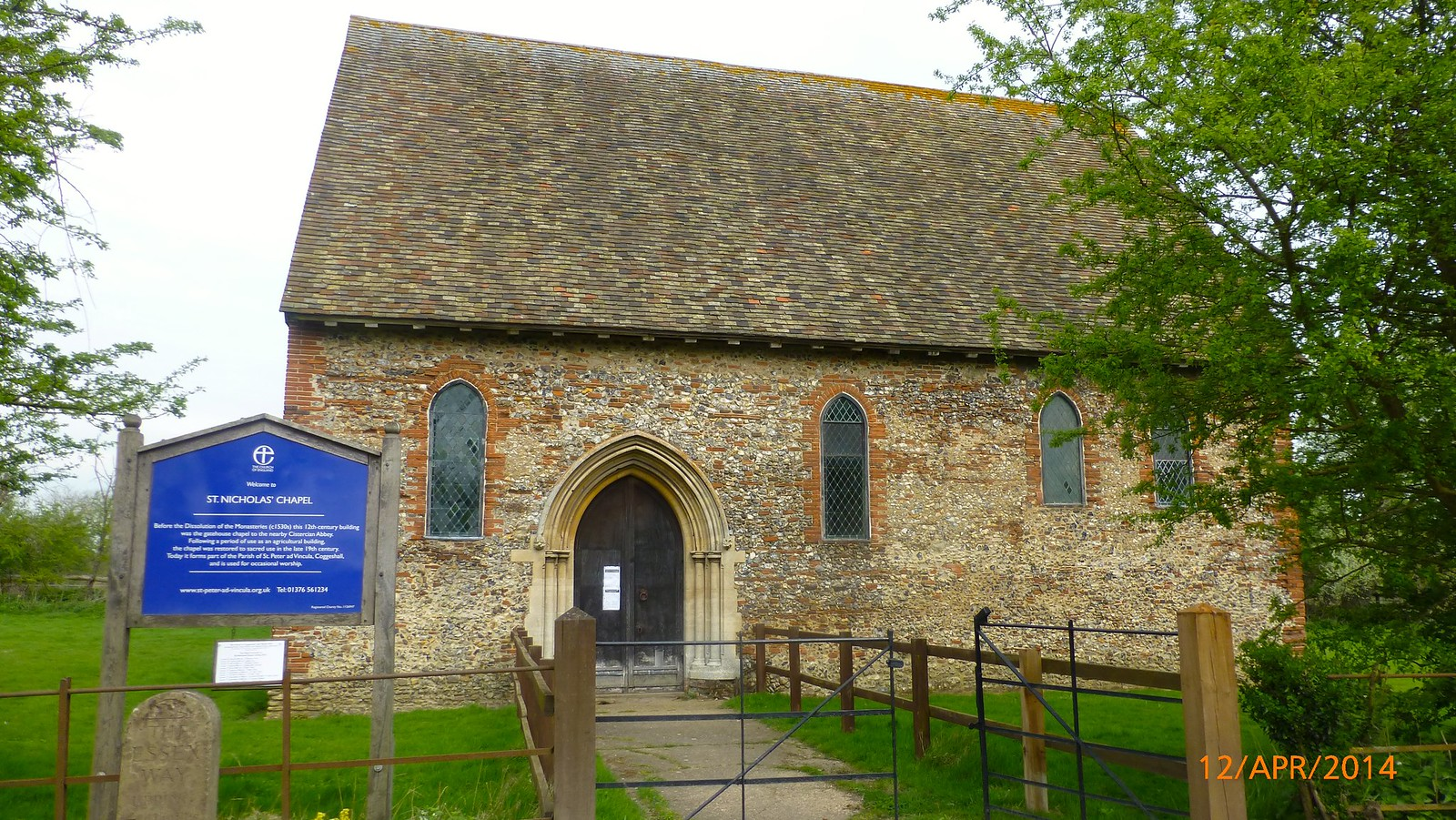 St. Nicholas' Chapel, Coggeshall SWC Walk 216 Kelvedon Circular