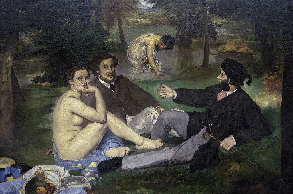 Luncheon on the Grass' by Edouard Manet | Le Déjeuner sur l… | Flickr