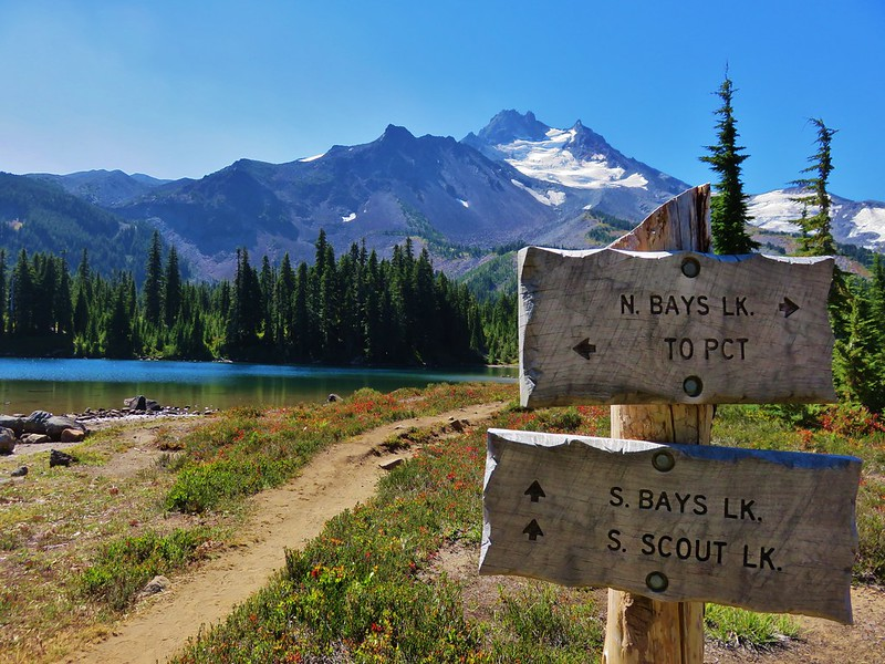 Scout Lake and Mt. Jefferson