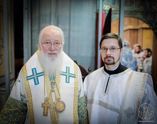 Литургия в Софийском соборе 730
