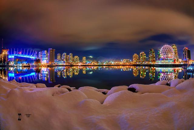 Snow @ Vancouver