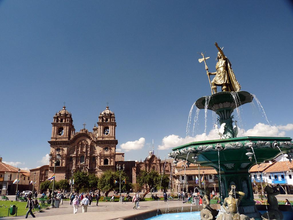 Plaza De Armas Cusco Plaza De Armas In Cusco Flickr