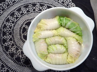 Stuffed cabbage rolls | by kattebelletje