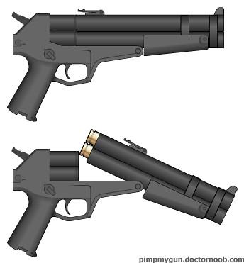 12 gauge pistol double barrel