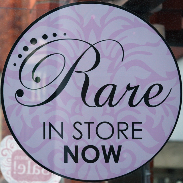 Rare IN STORE NOW