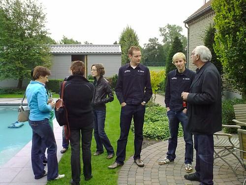2010-09-19 - Mosselen bij de voorzitter