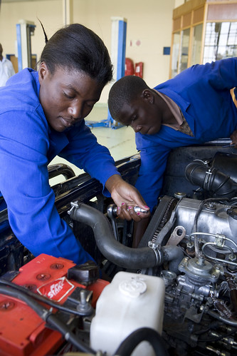 The Windhoek Vocational Training Centre in Khomasdal   by World Bank Photo Collection