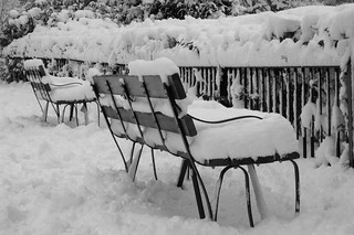 Snow Benches