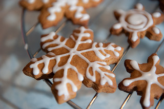 Snowflake cookie | by Patricia Marie Photography