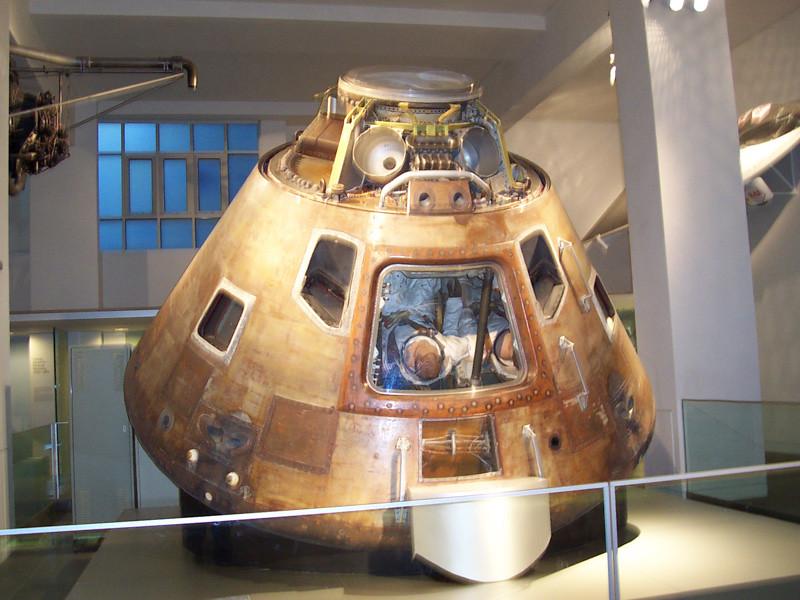 Apollo 10 Nasa At Science Museum South Kensington Is