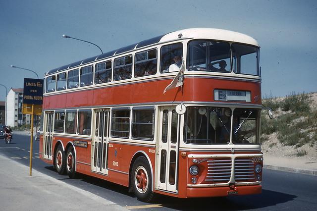 JHM-1961-0054 - Turin, autobus spécial desservant l'Exposition