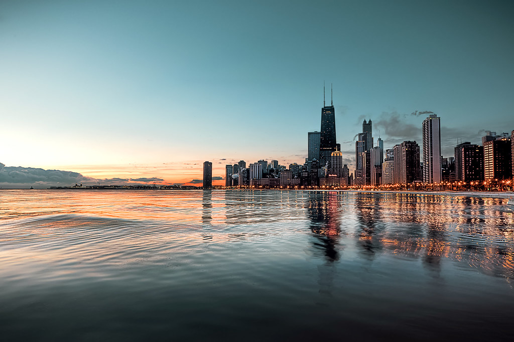 Sunrise From North Ave Beach