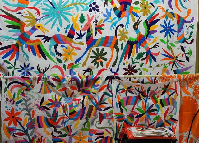 Otomi Embroidery Oaxaca