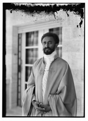 His Imperial Majesty Haile Selassie I (23 July 1892 – 27 August 1975) circa 1923